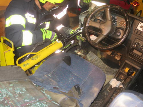 2018 - Übung hydraulisches Rettungsgerät