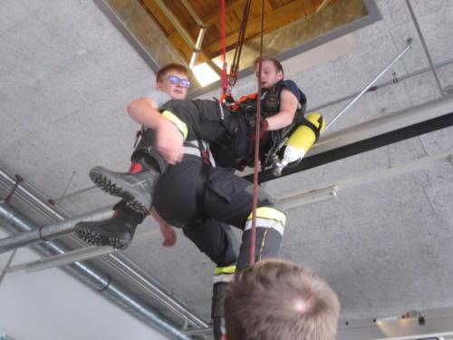 2018 - Übung Höhensicherung